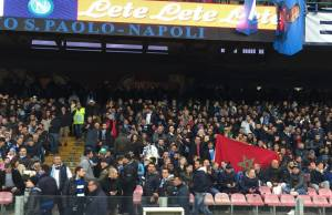 tribuna inferiore san paolo