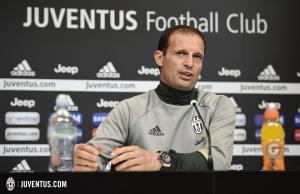 Juventus , Conferenza stampa Massimiliano Allegri
