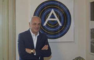 Bergamo Antonio Percassi imprenditore e presidente Atalanta Calcio Bergamo Antonio Percassi imprenditore e presidente Atalanta Calcio