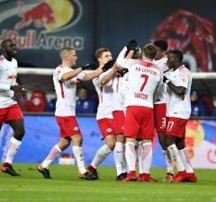 SOCCER - 1.DFL, RB Leipzig vs Schalke