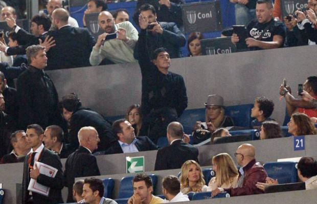 Maradona all'Olimpico