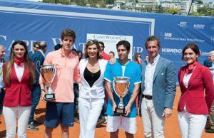 premiazione (da sinistra) Donati, Veronica Maya, Munoz-De La Nava, Luca Serra