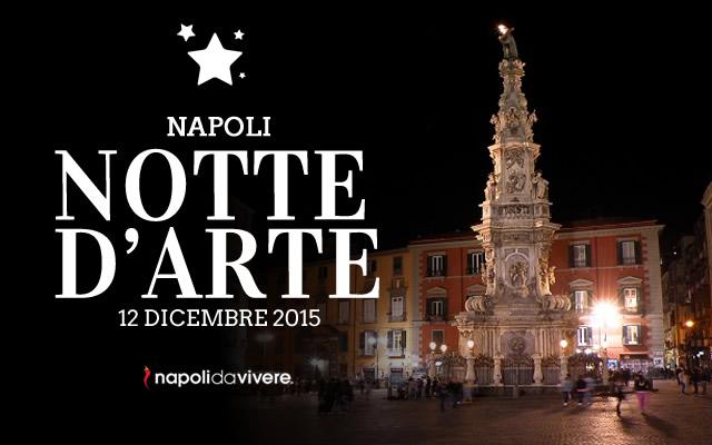 Napoli Notte D Arte 2015 A Dicembre Gol Del Napoli
