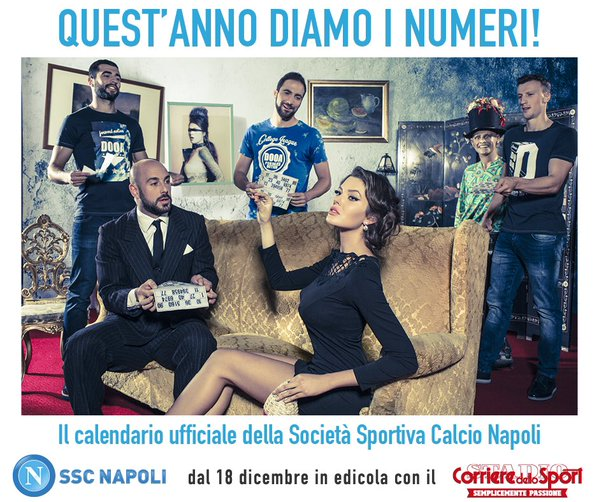 Napoli Calendario.Calendario 2016 Il Conto Alla Rovescia Gol Del Napoli