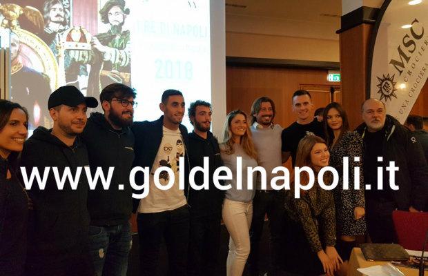 Calendario Del Napoli.Fotogallery Presentato Il Calendario 2018 Del Napoli Gol