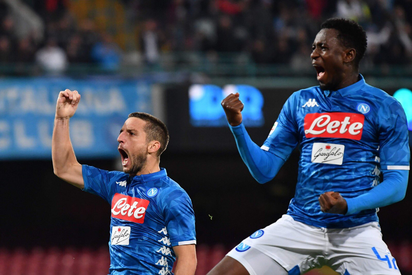 Napoli-Empoli, la cronaca - Gol del Napoli