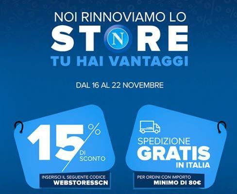 pick up a44f6 6e7d2 Si rinnova il web-store del Napoli – Gol del Napoli
