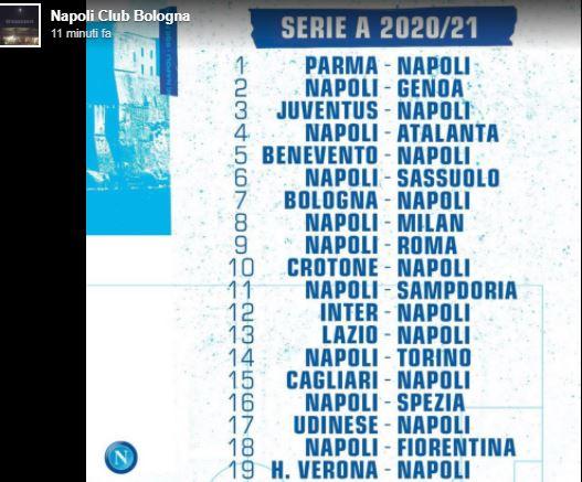 Il calendario del Napoli: l'analisi   Gol del Napoli