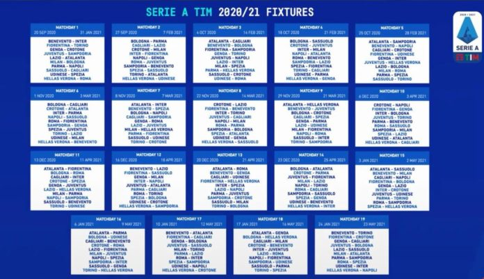 Serie A 2020/2021. Il calendario del Napoli   Gol del Napoli